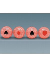 Poker d'Assi colore Rosso